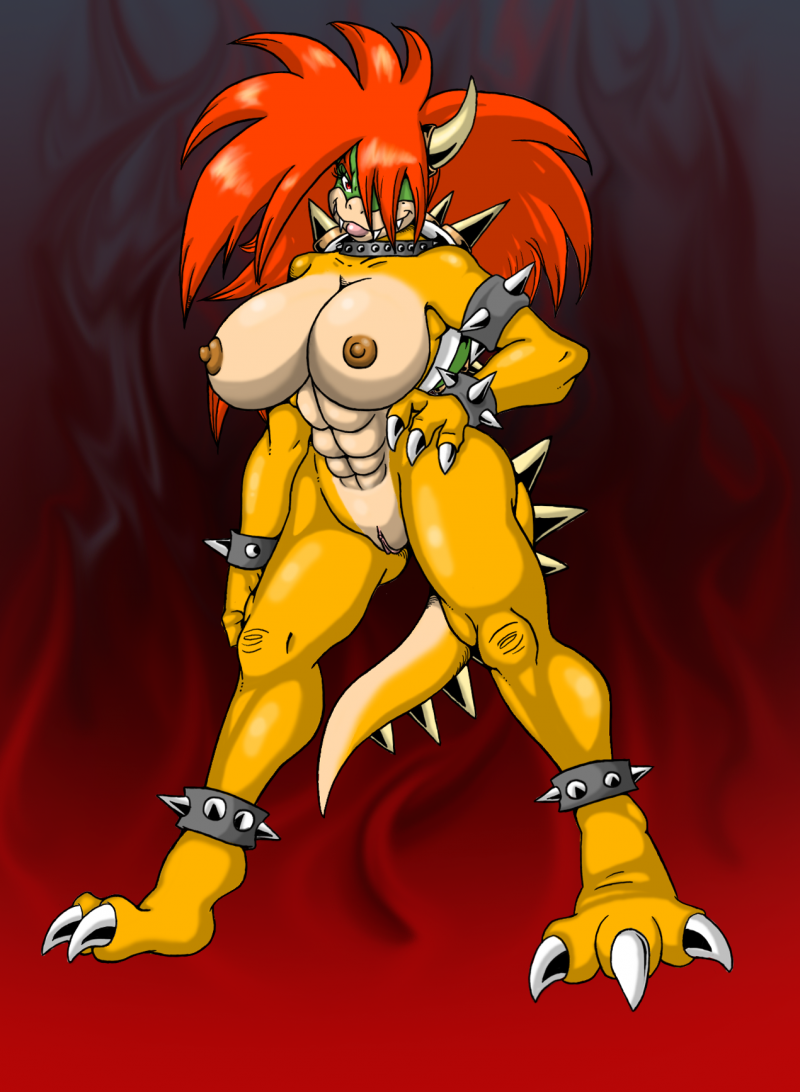 Bowser (King Koopa) Mario 684854 big_breasts big_hair bowser female lordstevie nintendo rule_63 .png