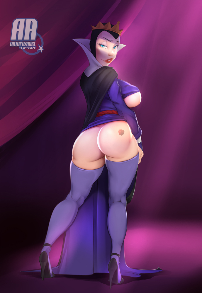 How Snow White can be more pretty if her ass is not even a half so good!