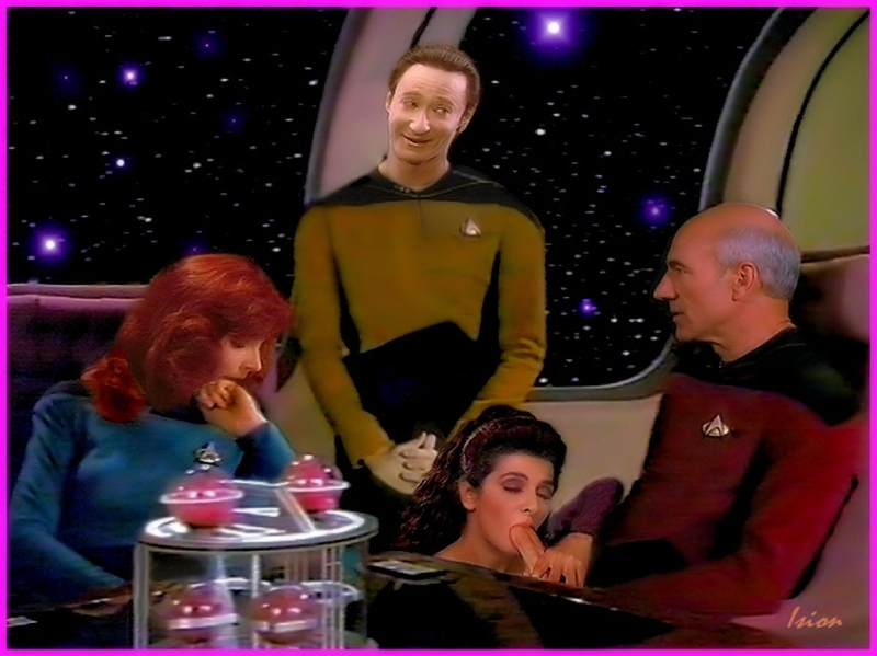 1198985 - Beverly_Crusher Brent_Spiner Data Deanna_Troi Gates_McFadden Jean-Luc_Picard Marina_Sirtis Patrick_Stewart Star_Trek Star_Trek_the_Next_Generation%2