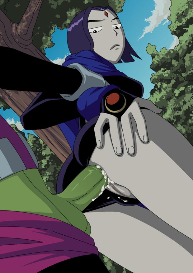 Free Teen Titans Hentai