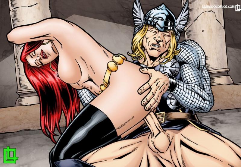 Avengers Porn Comic