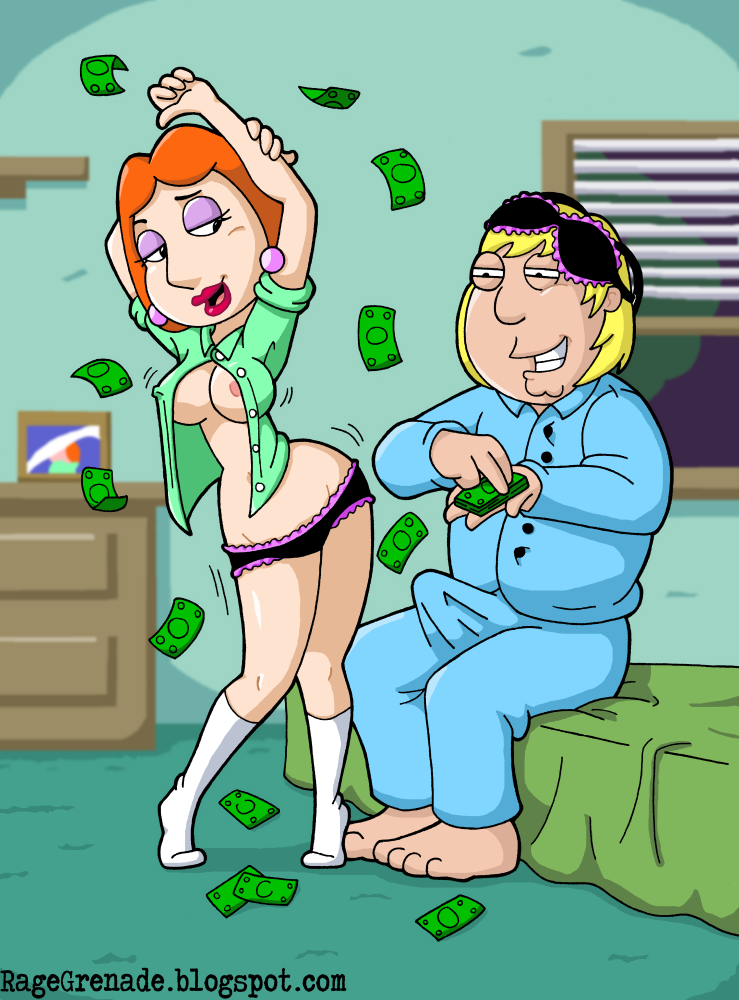Lois Griffin Chris Griffin 1275437 - Chris_Griffin Family_Guy Lois_Griffin Rage_Grenade.png