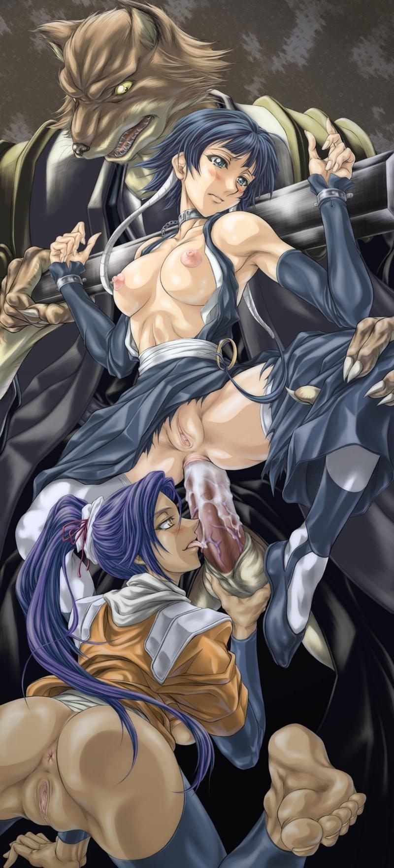 Bleach Girls Naked
