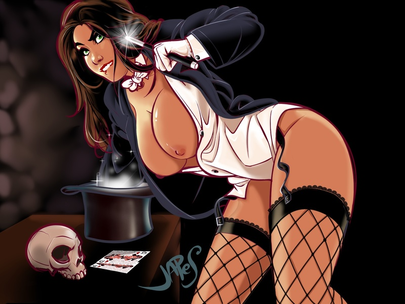 Zatanna knows how to make her show spicey!