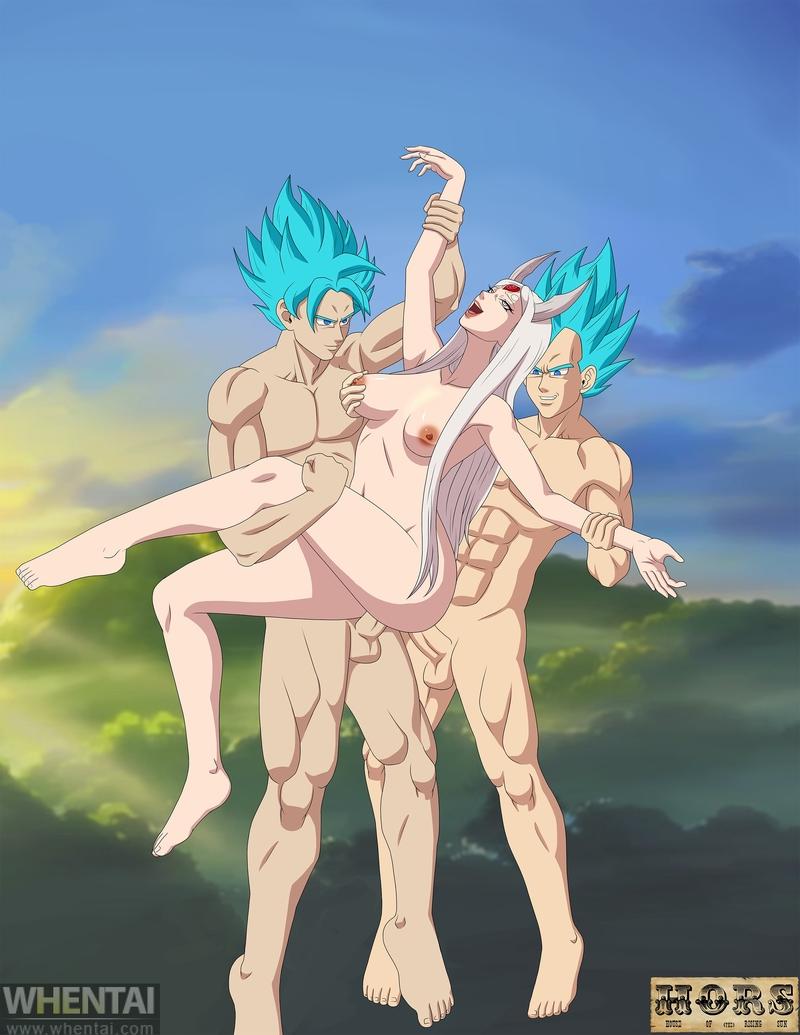 1696028 - Dragon_Ball_Z Hors-art Kaguya_Ootsutsuki Naruto Son_Goku Vegeta crossover.jpg