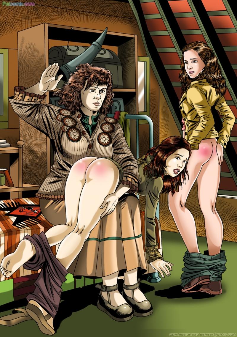1435709 - Ginny_Weasley Harry_Potter Hermione_Granger Molly_Weasley PalComix.jpg