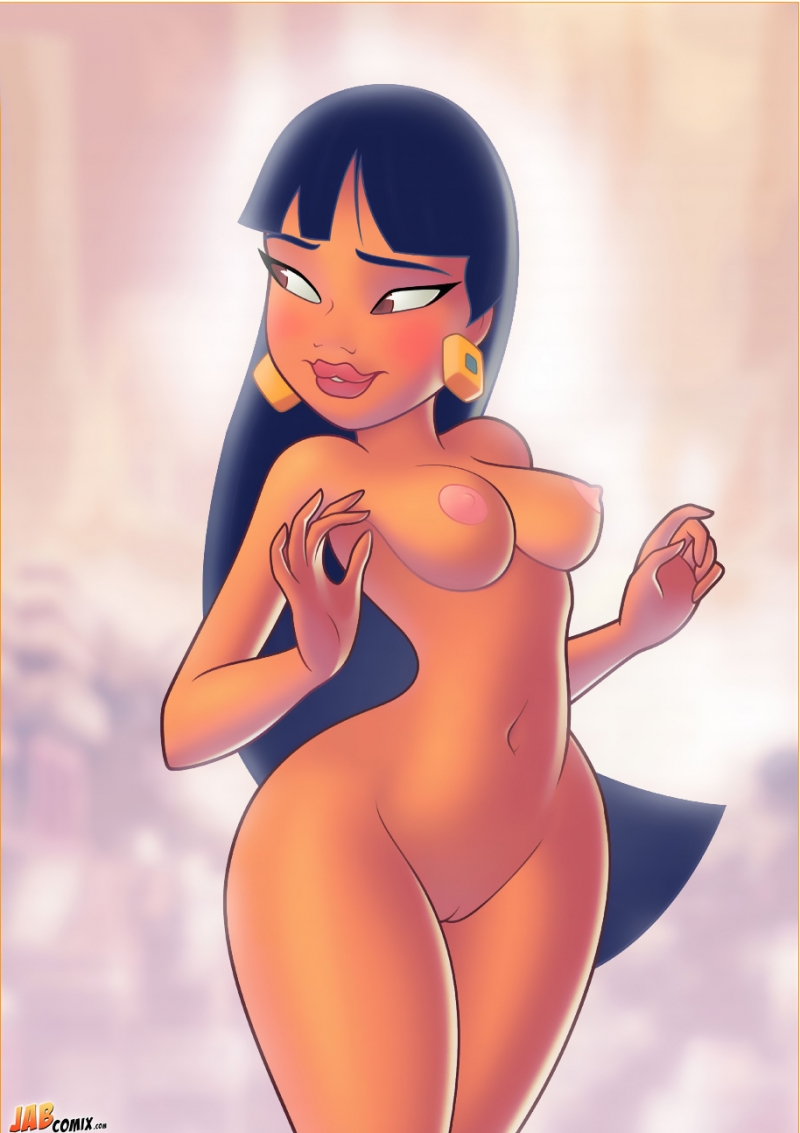 The road to el dorado chel hentai