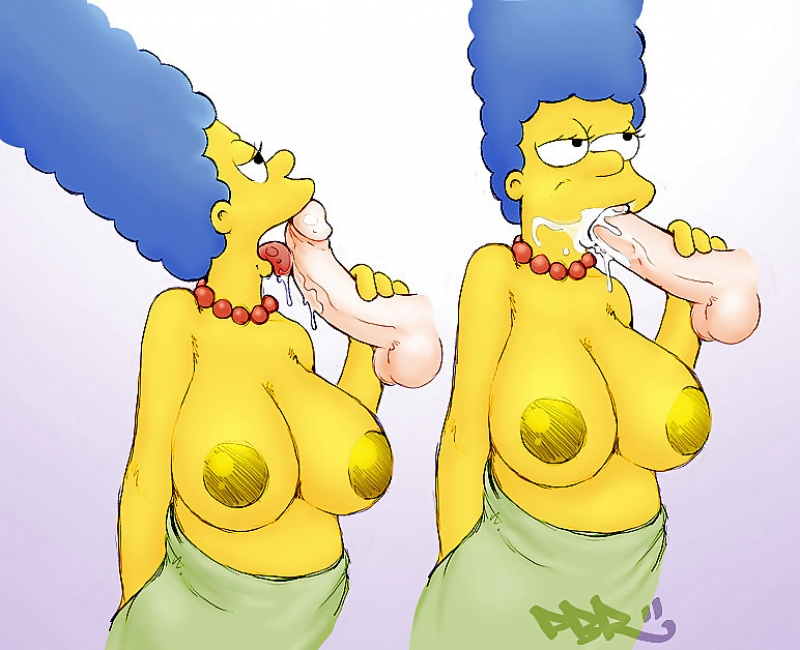 The Simpsons Naked Sketa