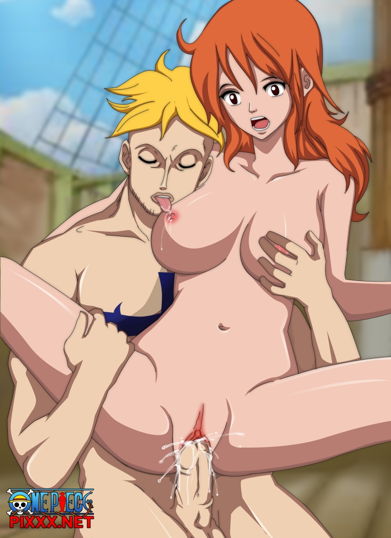 One Piece Hentai Footjob