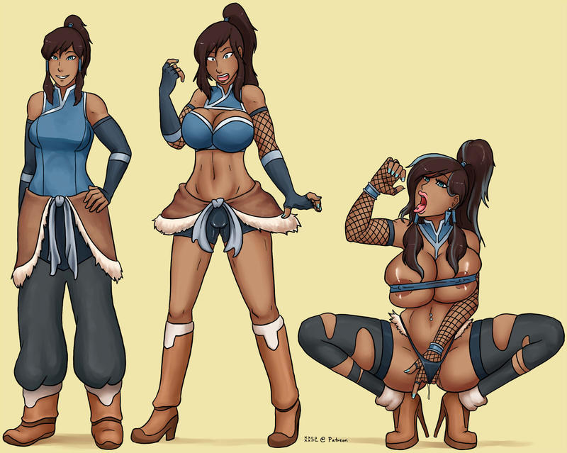 Bitch stages of Korra