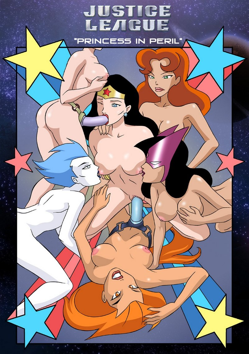 Justice League 1: Good girls. bad girls - they all get horny tonight!