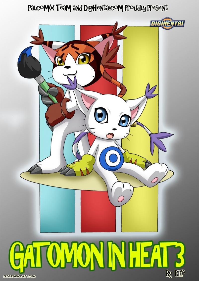 Digimon Porno Comics - Gatomon in Heat 3