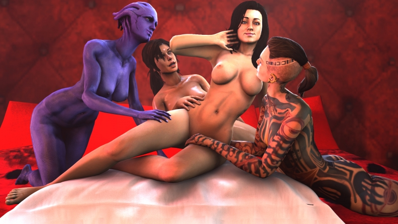 1347031 - Aria_T'loak Jack Lara_Croft Mass_Effect Mass_Effect_3 Miranda_Lawson Tomb_Raider Tomb_Raider_Reboot Vitezislav crossover.jpg
