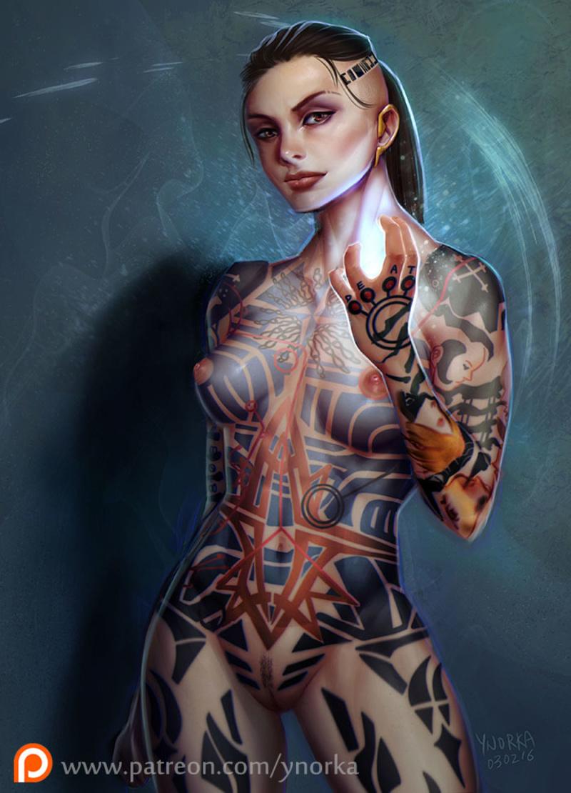 Mass Effect Sex Scene
