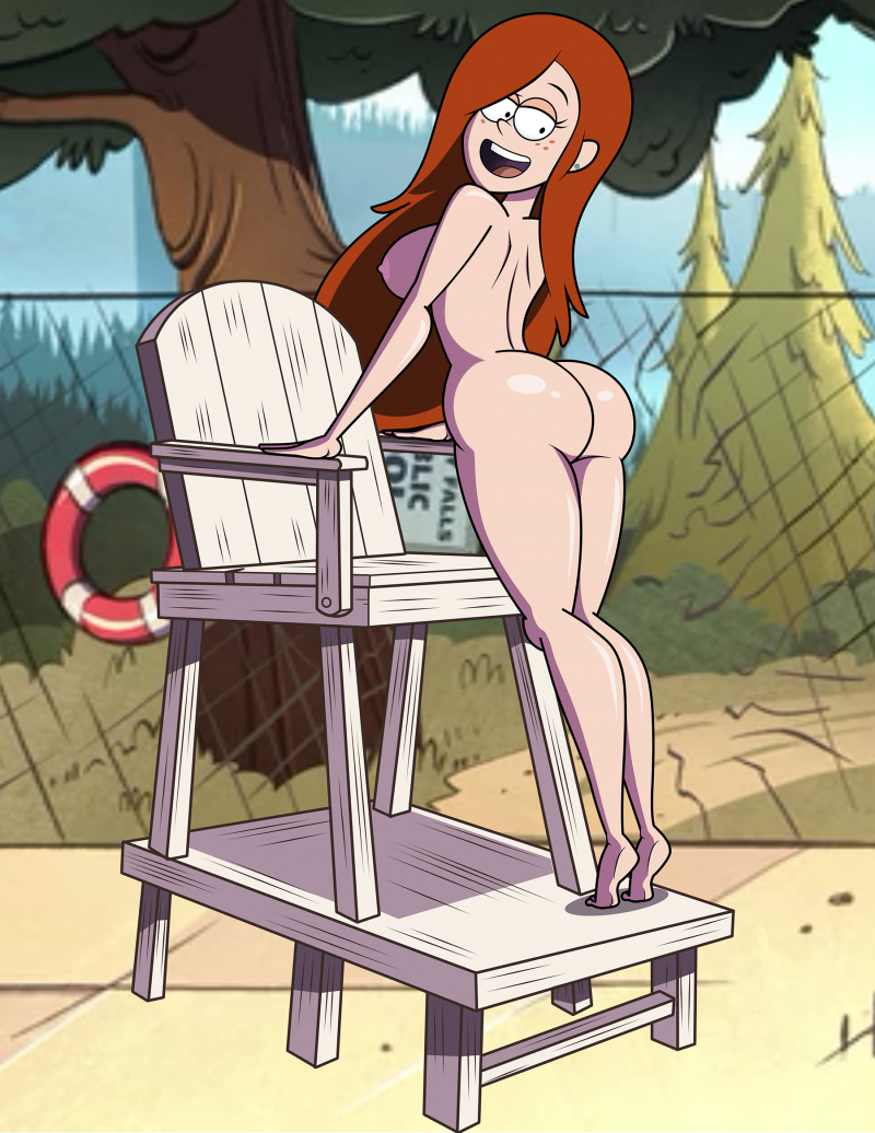 Sexy Wendy shows her perfect butt