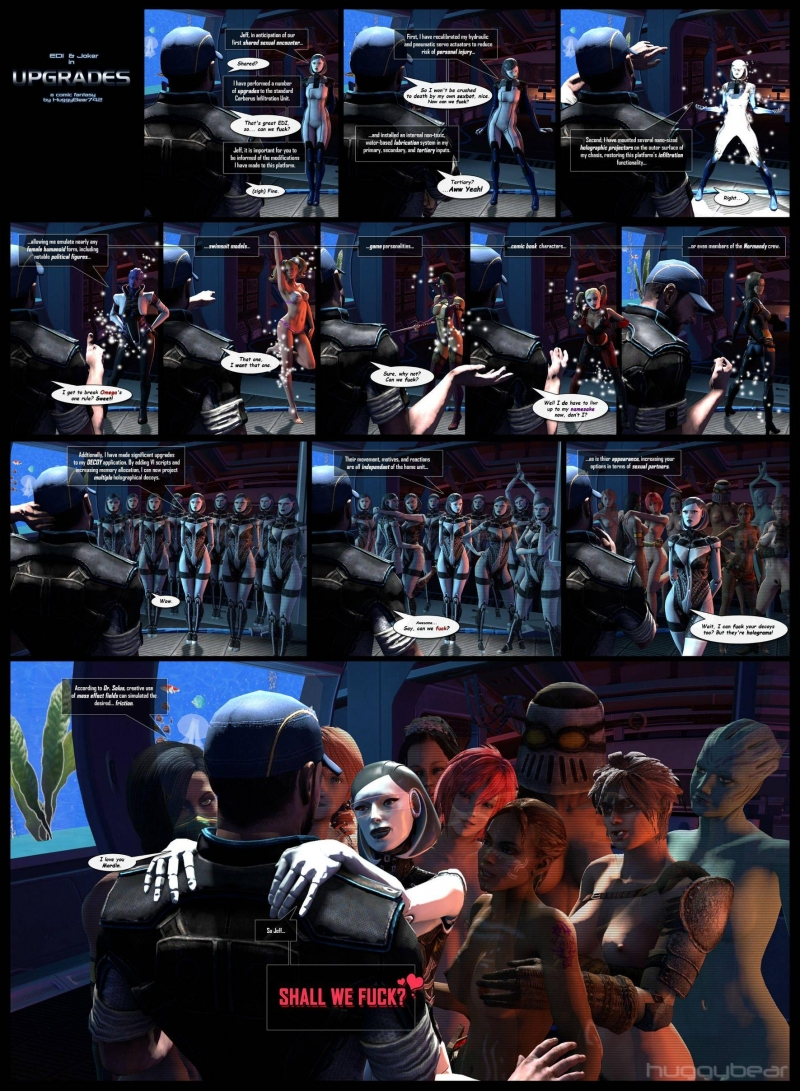 1040655 - Aria_T'loak DC EDI Harley_Quinn Huggybear Jeff_Moreau Juliet_Starling Lollipop_Chainsaw Mass_Effect Mass_Effect_3 Mileena Miranda_Lawson Mor