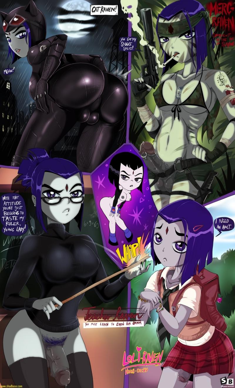 Teen Titans Hentai 1