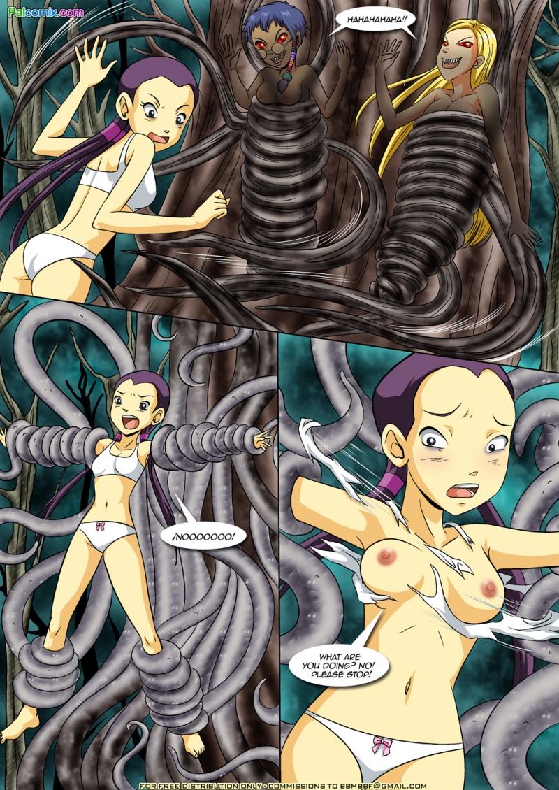 W.I.T.C.H. Hentai Porn Doujinshi