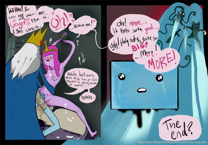 994722 - Adventure_Time Finn_the_Human Ice_King Jake_the_Dog Princess_Bubblegum Rochocha.jpg
