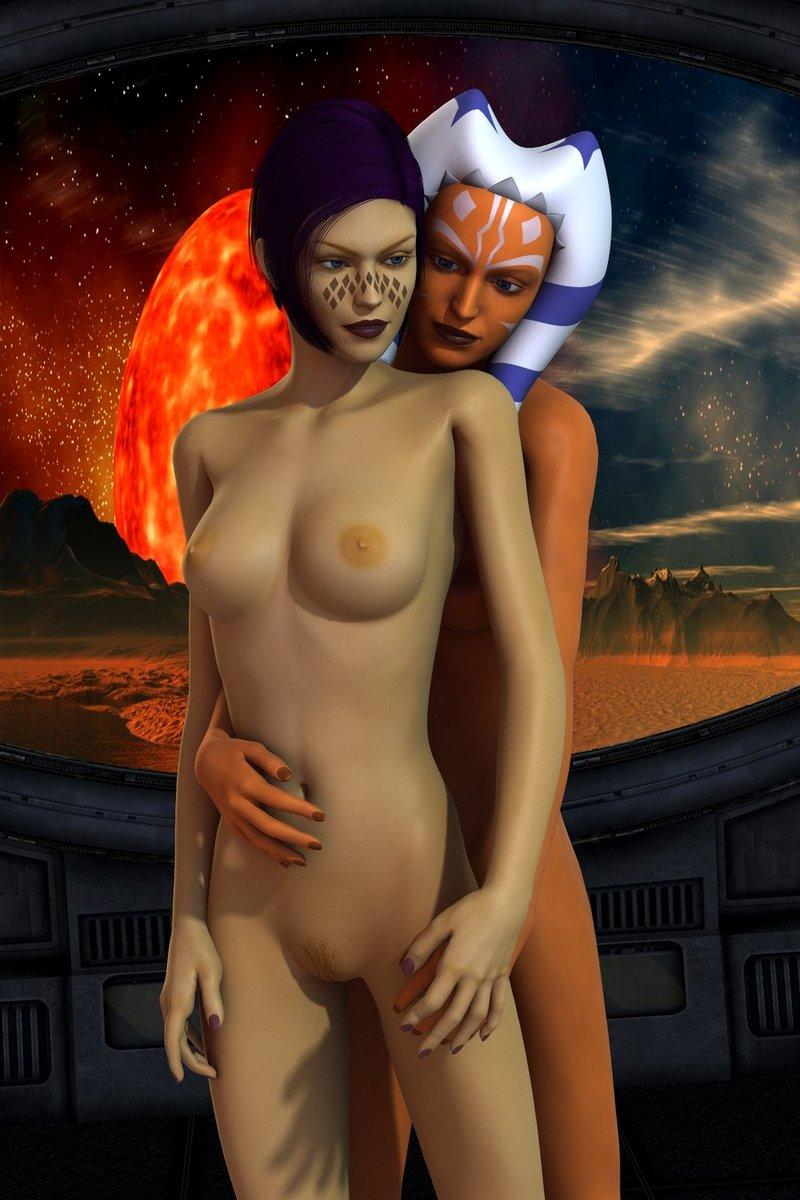 Obiwan Kenobi Aayla Secura 788363 - Ahsoka_Tano Barriss_Offee Clone_Wars Mirialan Star_Wars mememo togruta.jpg