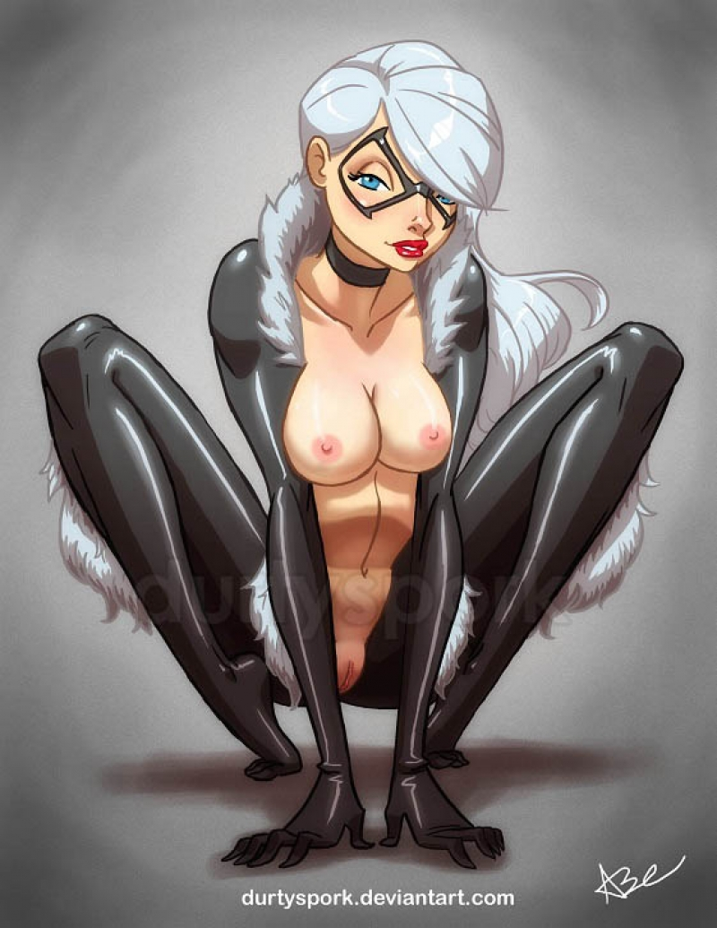 Blackcat Spiderman Porn