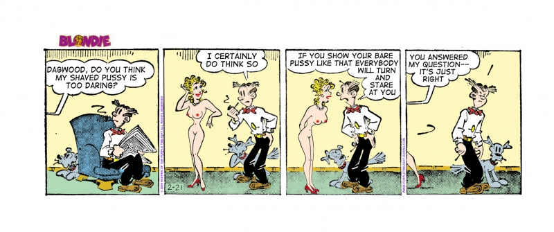 dagwood bumstead having sex with blondie