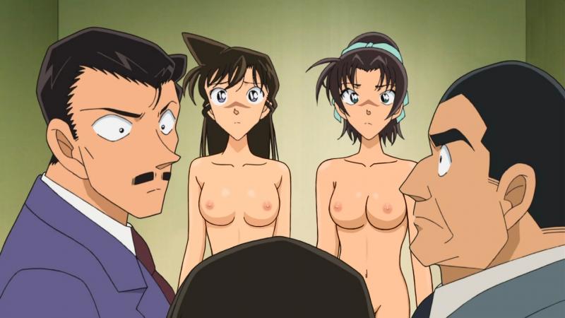 Hentai Detective Conan Haibara Ai Mouri Ran