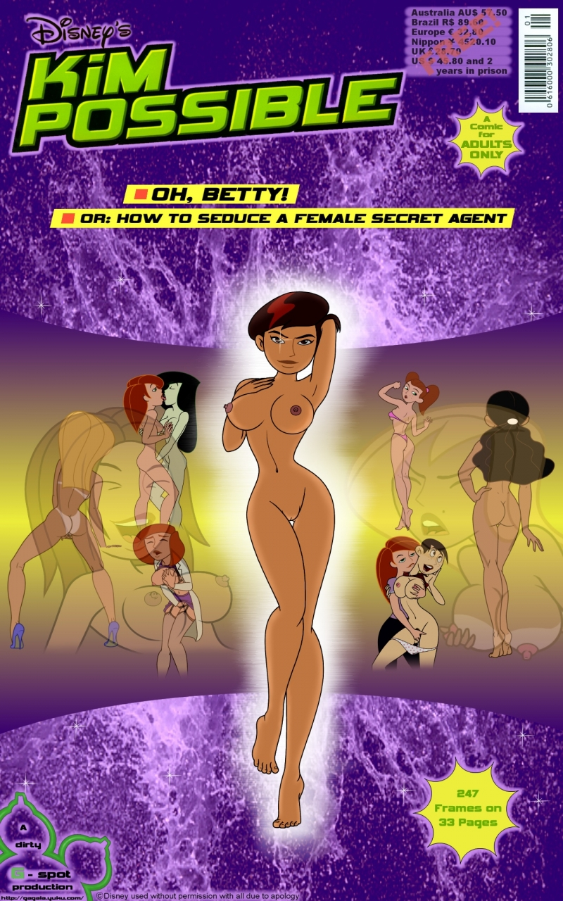 Kim Possible in: Oh Betty - How to seduce a female secret agent
