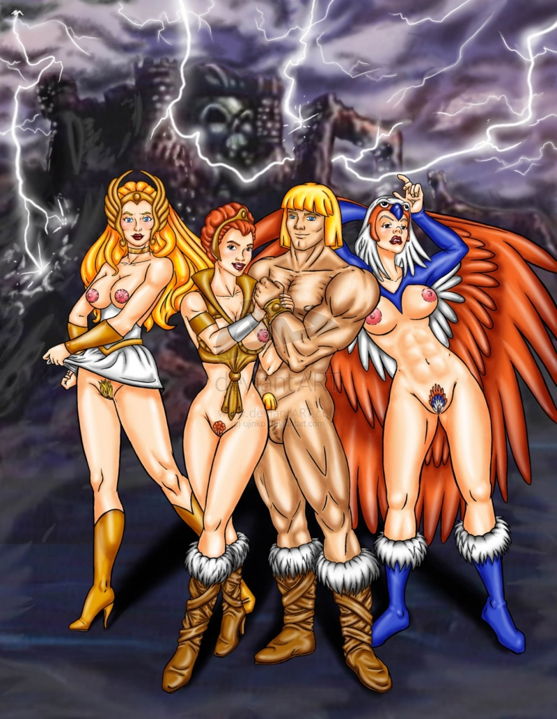 universe Masters nude the porn of