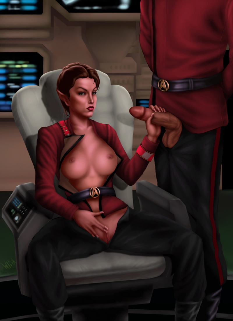 Kira Nerys is gonna spend her break in other way than usual