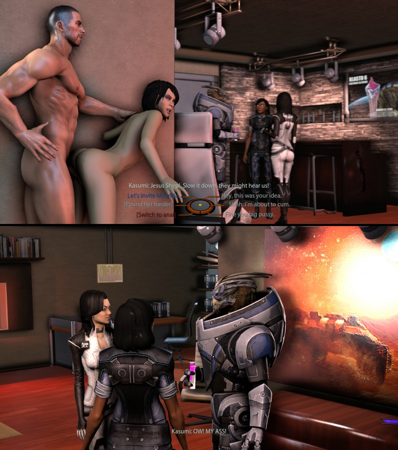 Mass Effect Sex Comics
