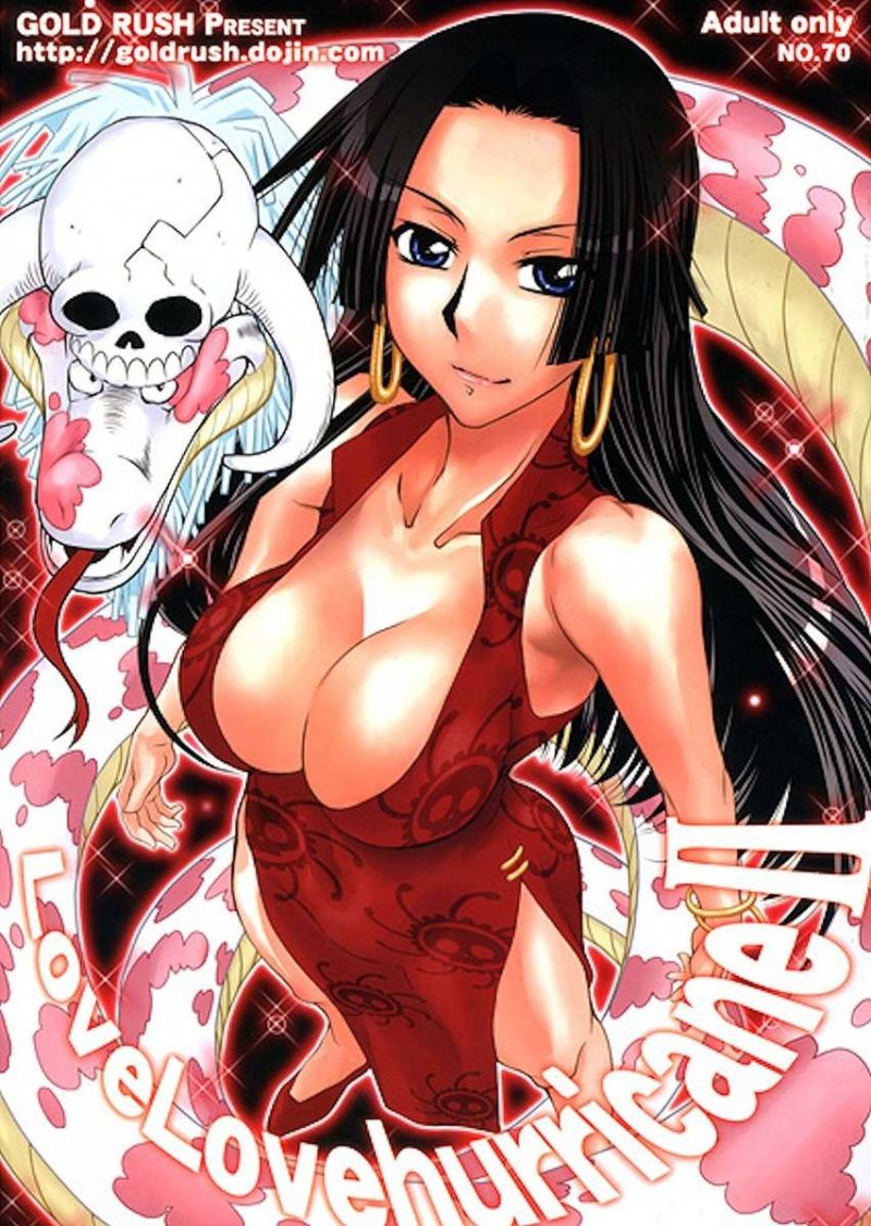 LoveLovehurricane II [GOLD RUSH] [One Piece]: Playing with nude hottie Boa Hancock