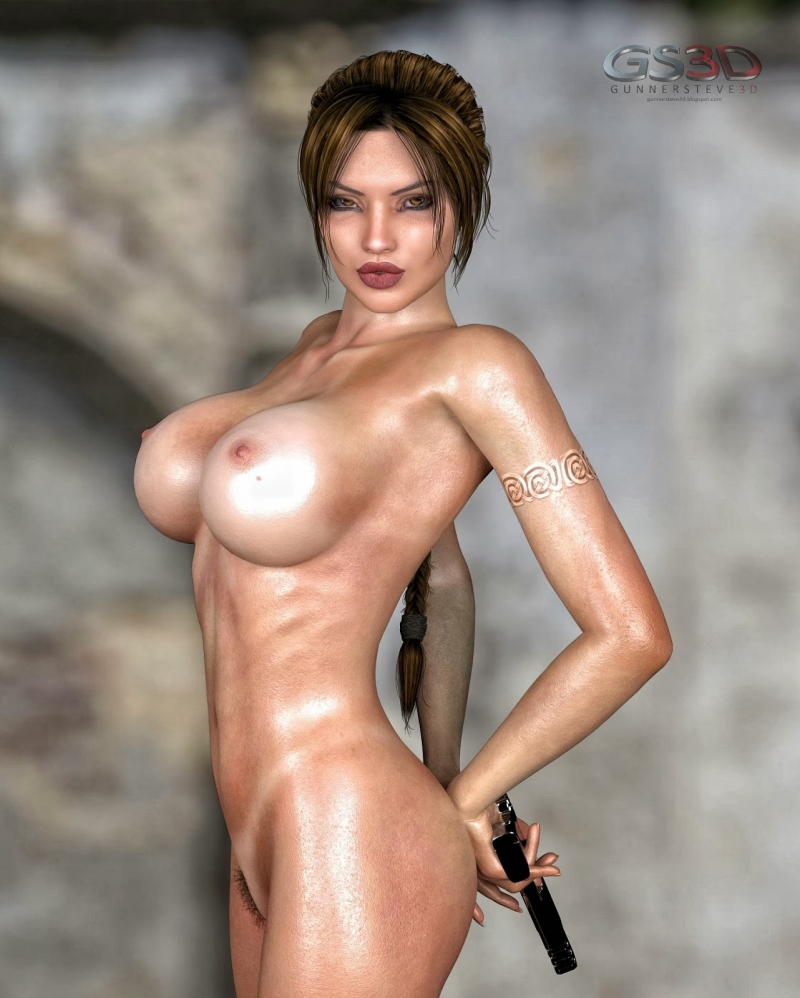 Lara Croft Cartoons