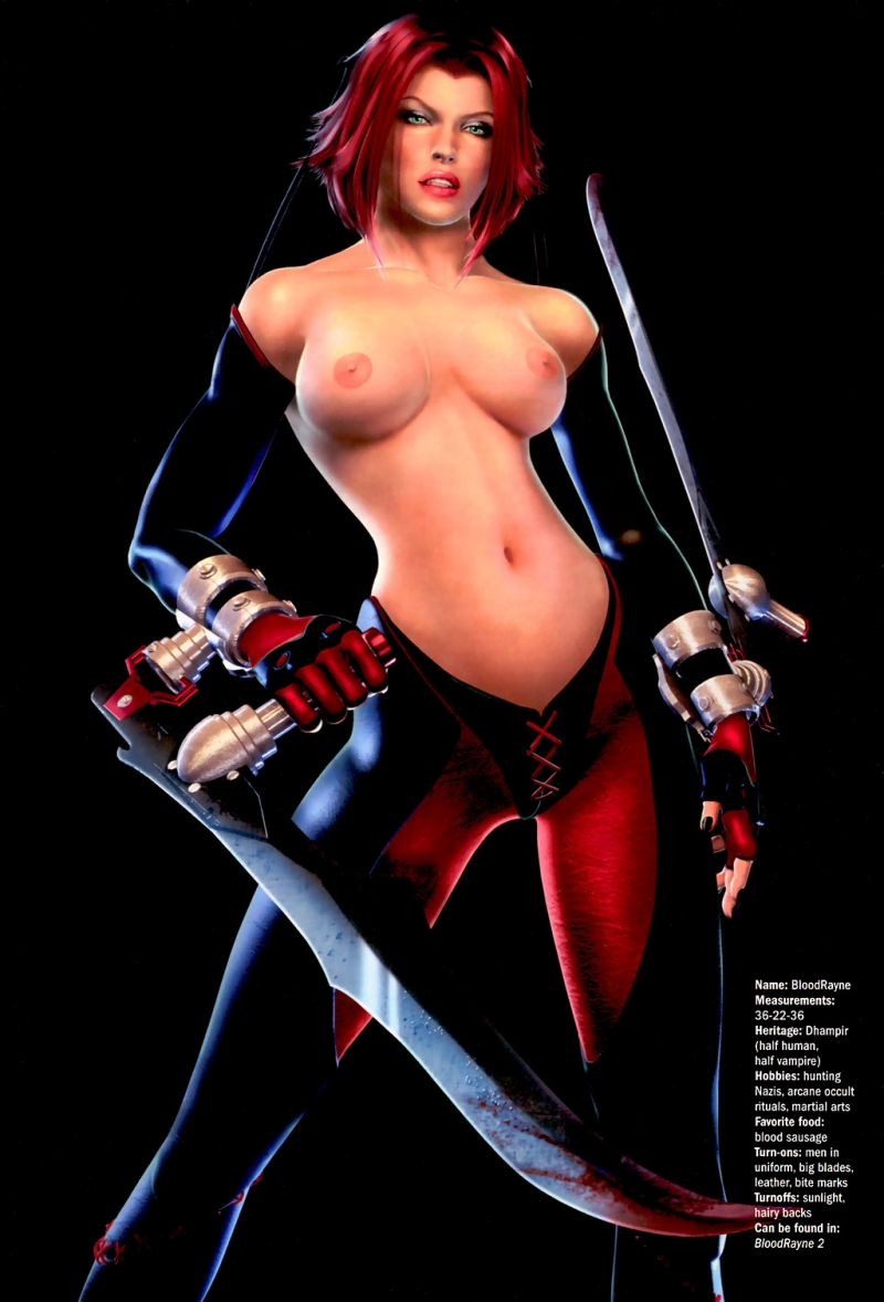 Bloodrayne Sex Comics