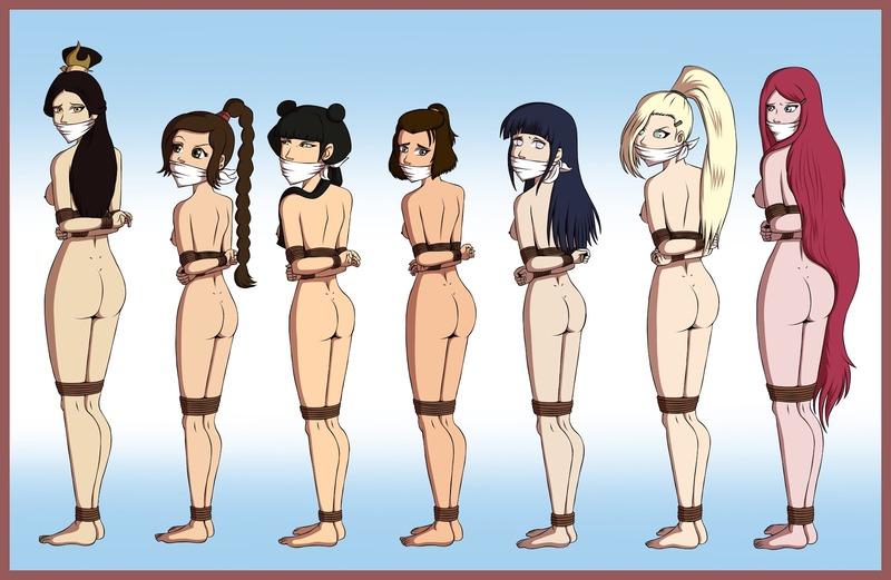 989111 - Avatar_the_Last_Airbender Hinata_Hyuuga Ino_Yamanaka Kushina_Uzumaki Mai Naruto Suki Ty_Lee Ursa Zeo-Nell crossover.jpg