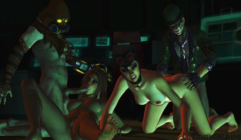 1165099 - Batman__Arkham_City Catwoman DC MintoFoularis Riddler Scarecrow Talia_Al_Ghul.jpg