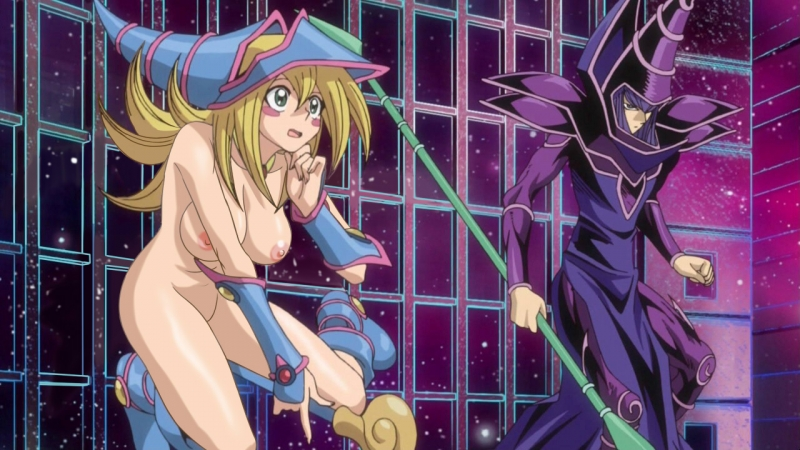 Hot sexy naked dark magician girl