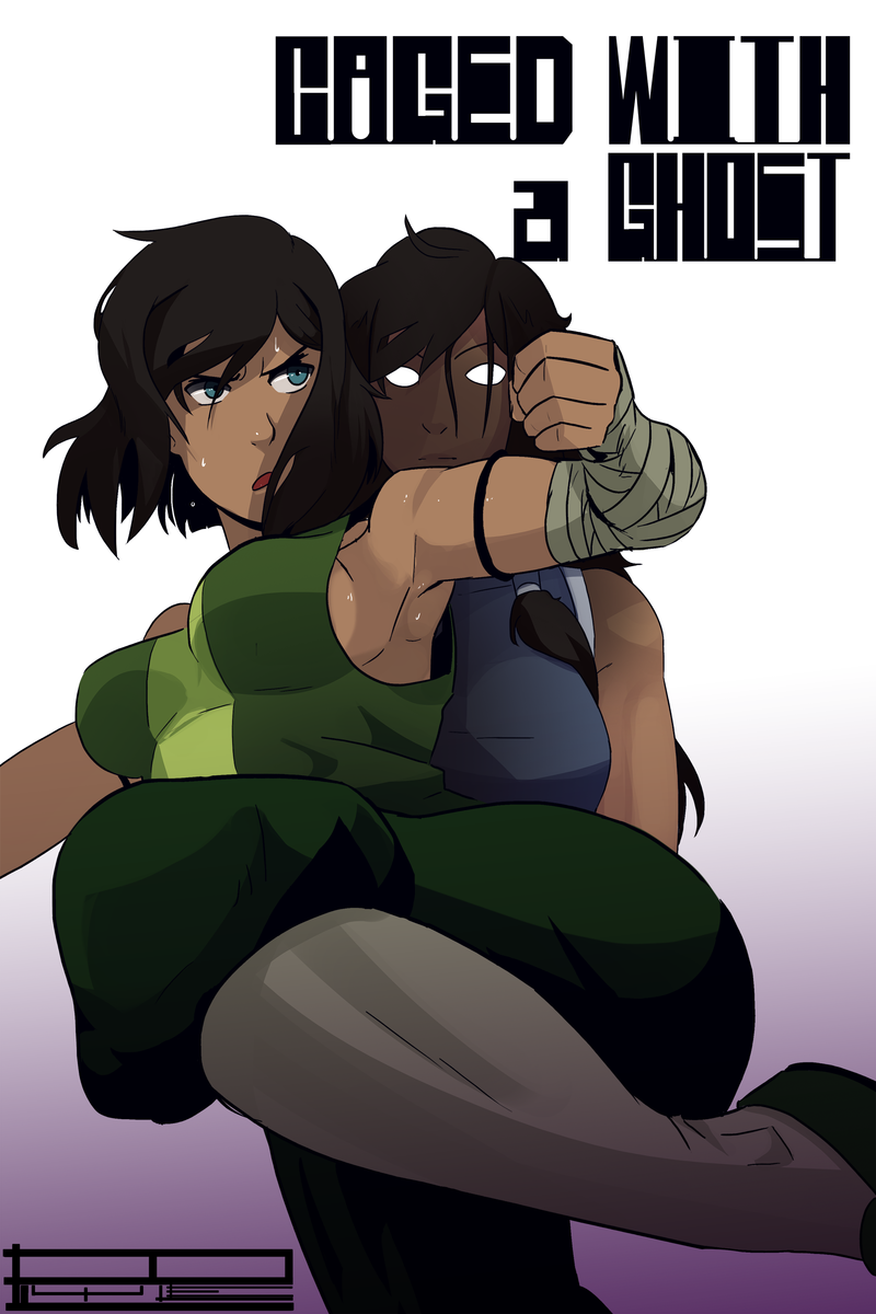 Encaged with a Ghost (The Vet of Korra): The struggle has just begun... and in the duo of seconds someone is already plowing Korra!