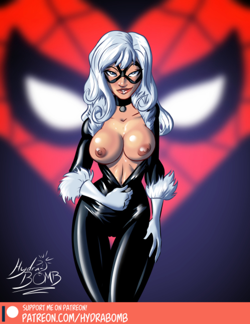 Gwen Stacy Black Cat Chi-chi Spider-man share_it_8ca8ab6add7e794ac3a8d8304da3859c
