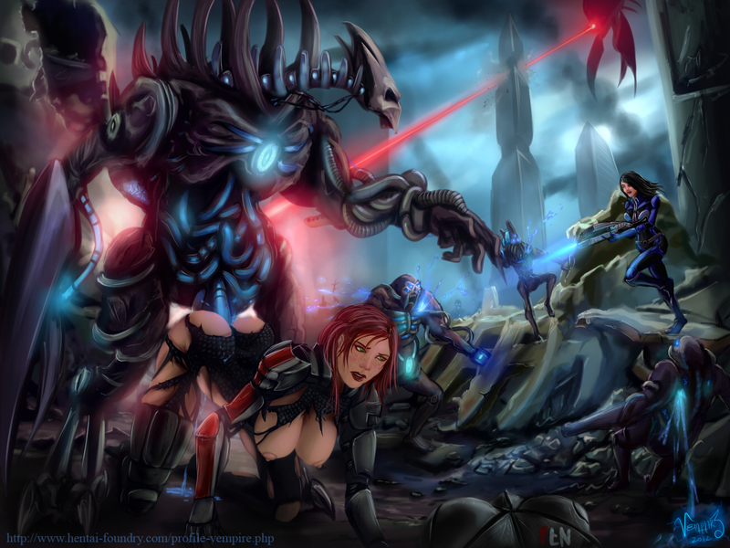 896913 - Adjutant Ashley_Williams Brute Commander_Shepard FemShep Mass_Effect Mass_Effect_3 Reaper cannibal vempire.jpg