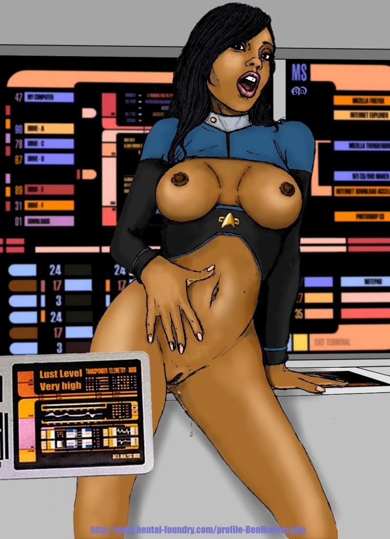 Star Trek Babes Nude