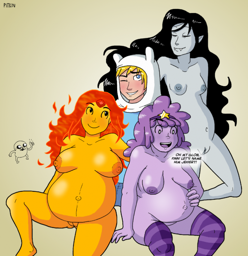 1207197 - Adventure_Time Finn_the_Human Flame_Princess Jake_the_Dog Lumpy_Space_Princess Marceline Pitkin.png