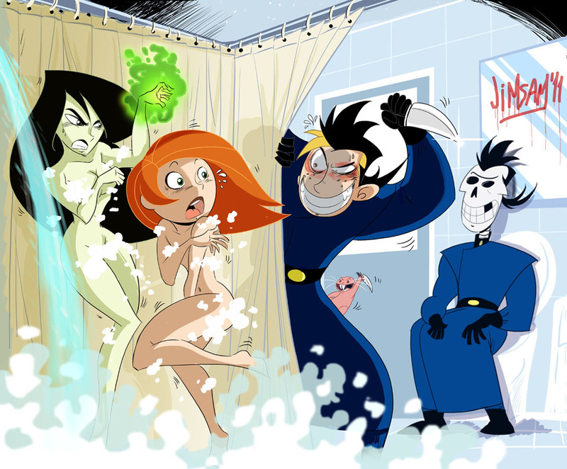 596443_Dr._Drakken_Ron_Stoppable_Rufus_cosplay_jimsam_kim_possible_kimberly_ann_possible_shego.jpg