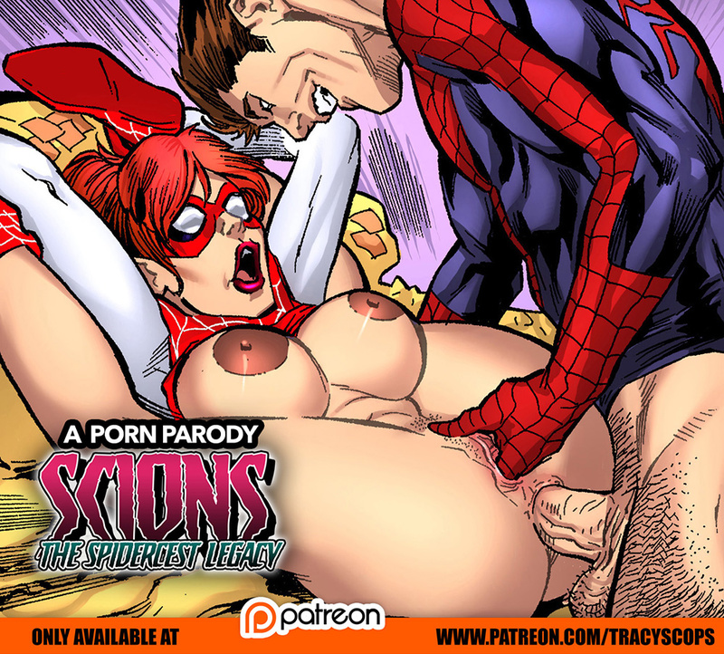 Spiderman Cartoon Sex