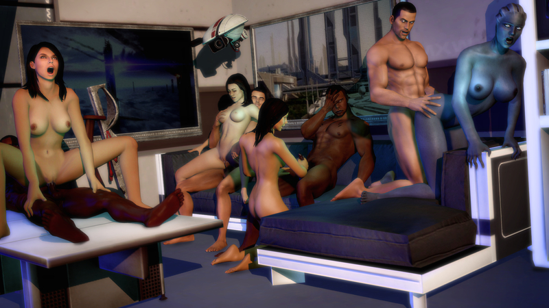 945500 - Asari Ashley_Williams Commander_Shepard Diana_Allers James_Vega Kaidan_Alenko Liara_T'Soni Mass_Effect Mass_Effect_3 Miranda_Lawson gmod.jpg