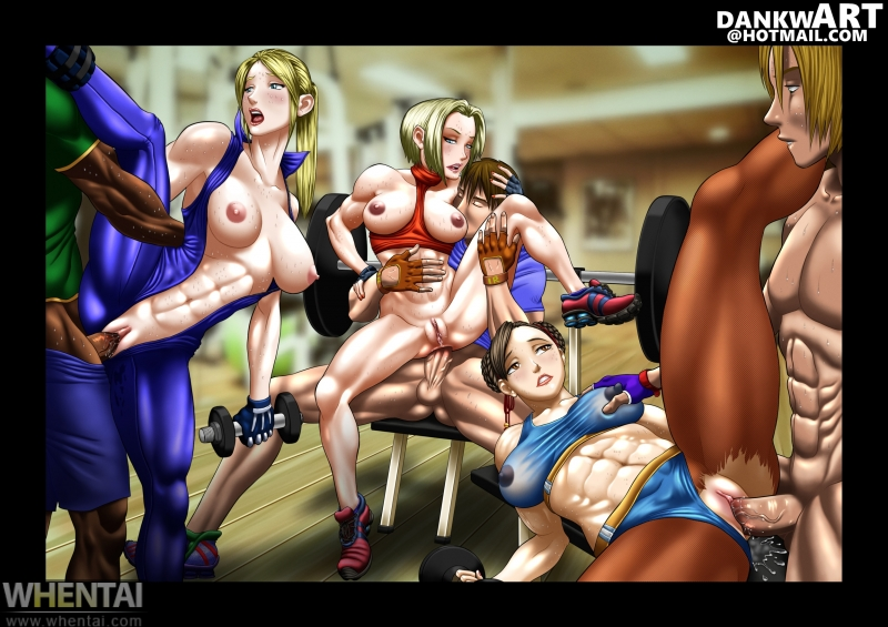 1304684 - Blue-Mary_Ryan Chun-Li Dankwart King_Of_Fighters Sarah_Bryant Street_Fighter Virtua_Fighter crossover.jpg