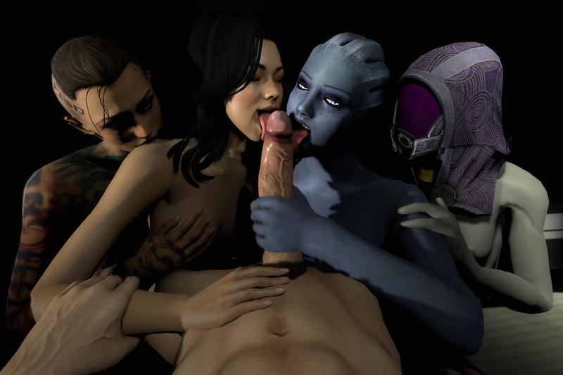 порно фото mass effect 2