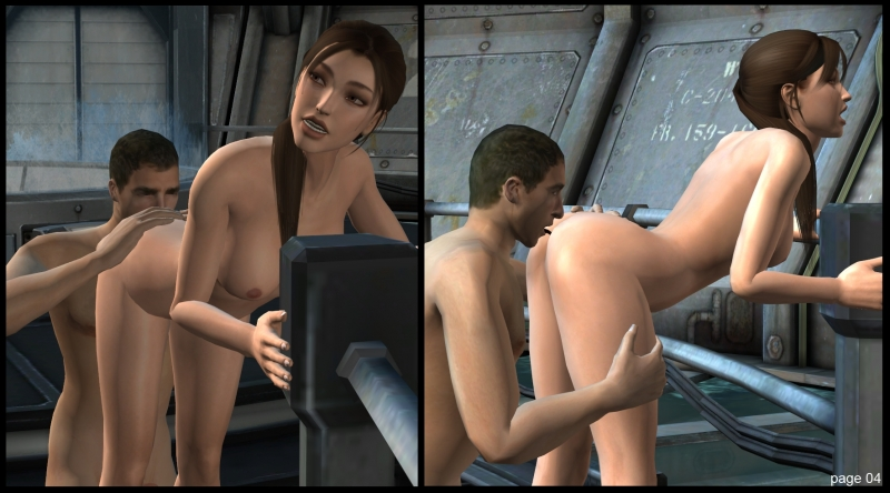 Lara Croft Gets Fucked