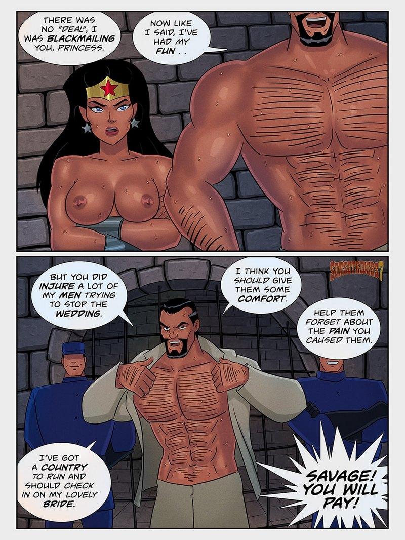 Justice League Hentai Porn Doujinshi