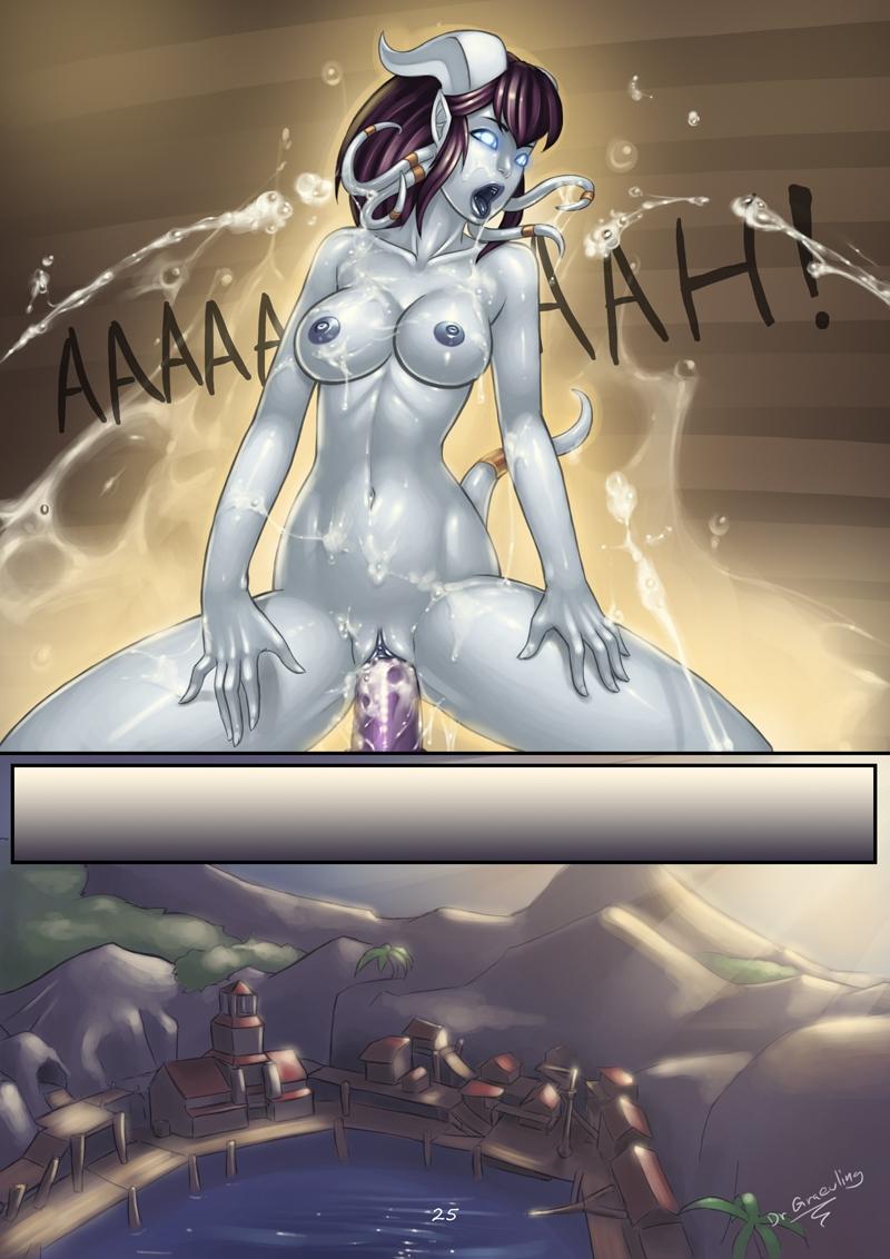 World of Warcraft Hentai Porn Doujinshi